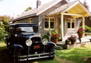 Cottage Tour 2006 car