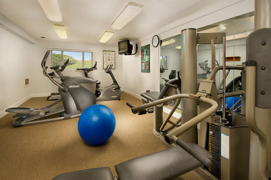 Fitness center, Tolovana Inn
