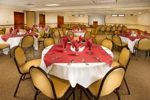 Banquet space for up to 96