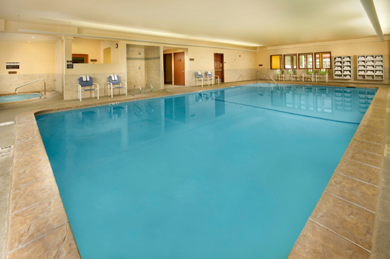 Indoor Salt Water Pool, Spa and Dry Sauna