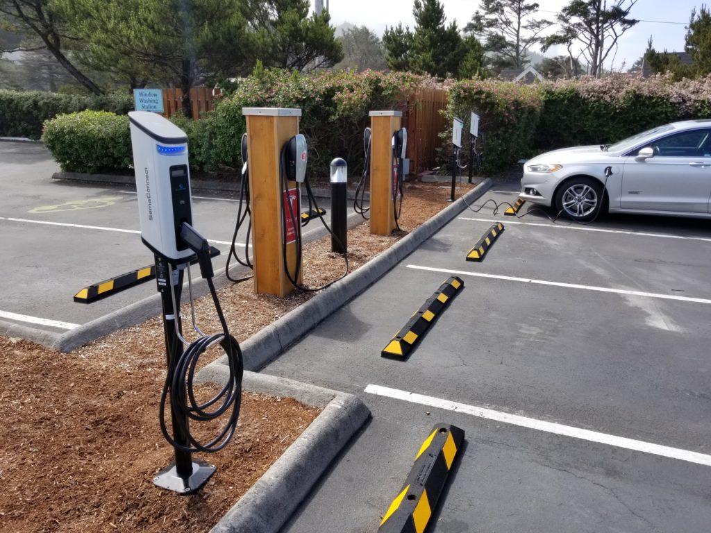 Tolovana EV charging station