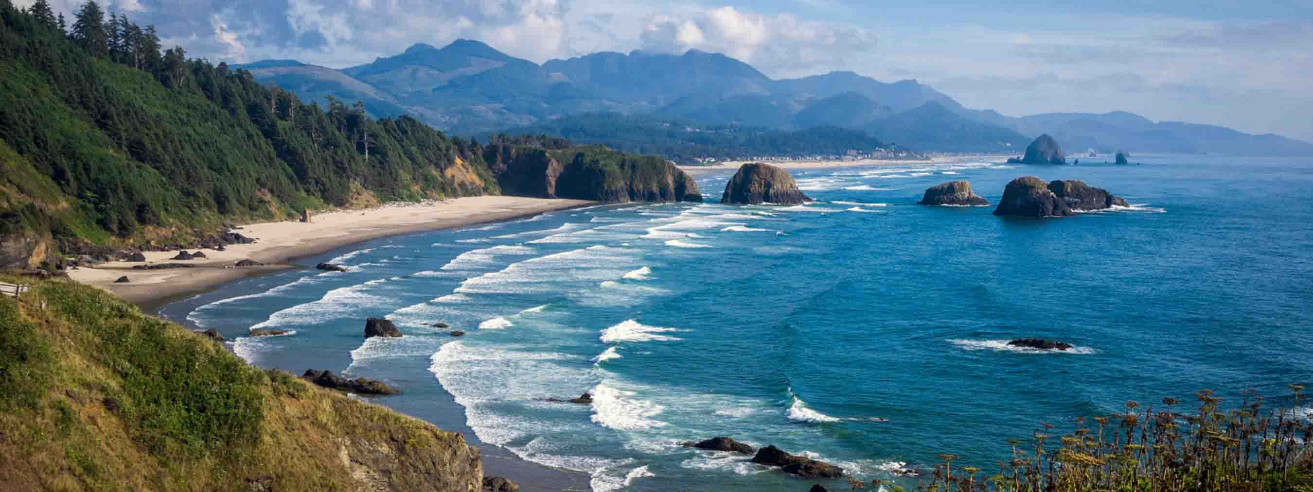 Cannon Beach Is In The Middle Of Some Most Scenic Hiking Trails Northwest