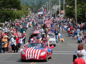 Cannon Beach July 4th Parade!