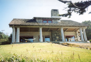 On of the notable homes in Cannon Beach is the former summer residence of past Gov. Oswald West.